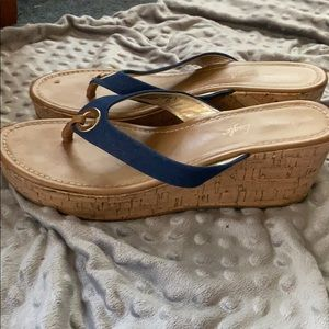 American Eagle Outfitters Shoes - American Eagle sandal wedges size 10!